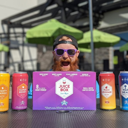Dead Frog Brewery Releases 2021 Edition of Juice Box Sour Mixer