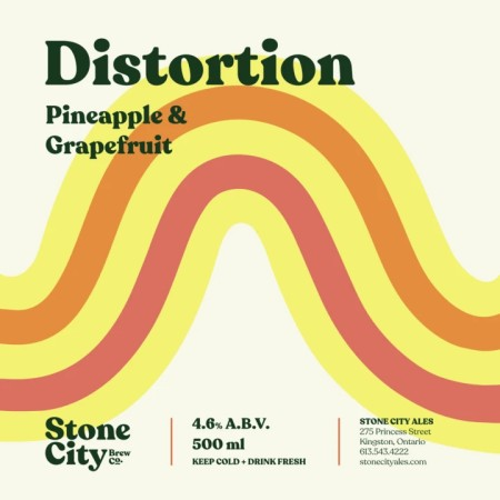 Stone City Brew Co. Releases Pineapple & Grapefruit Edition of Distortion Sour