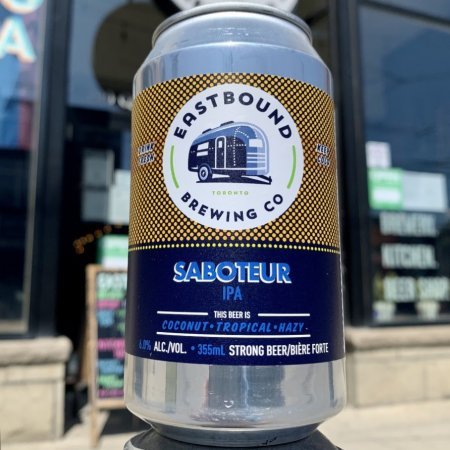 Eastbound Brewing Releases Saboteur IPA