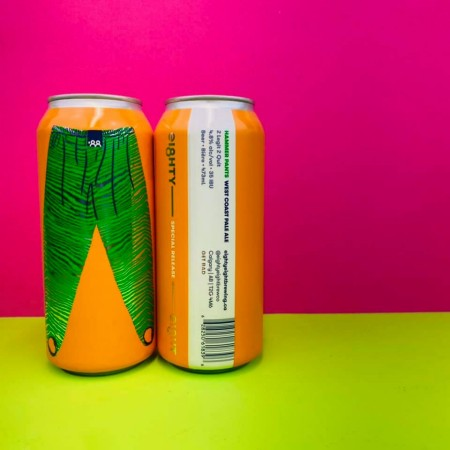 Eighty-Eight Brewing Hammer Pants APA Now Available in Cans