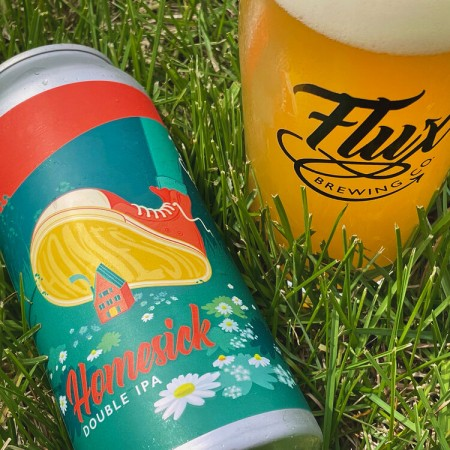 Flux Brewing Releases Homesick Double IPA and Kaleidoscope Blackberry Kettle Sour