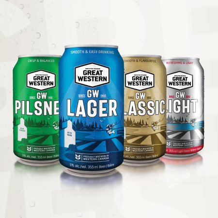 Great Western Brewing Releases Great Western Lager and Launches New Packaging