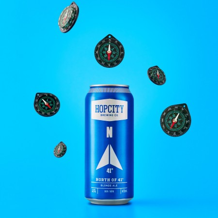 Hop City Brewing and Recipe Unlimited Release North of 41° Blonde Ale