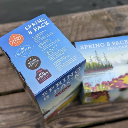 Howe Sound Brewing Releases Spring 8 Pack