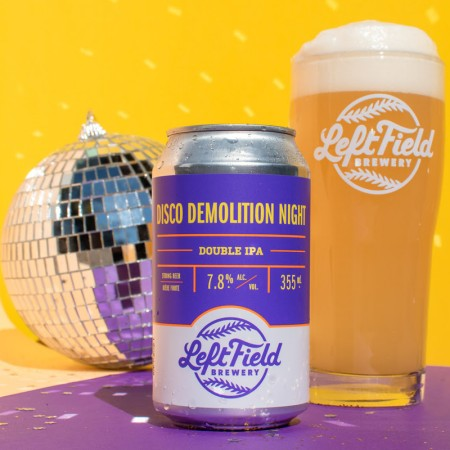 Left Field Brewery Brings Back Disco Demolition Night Double IPA