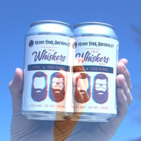 Muddy York Brewing Brings Back Twin Whiskers Double IPA & Hardly Working Pale Ale