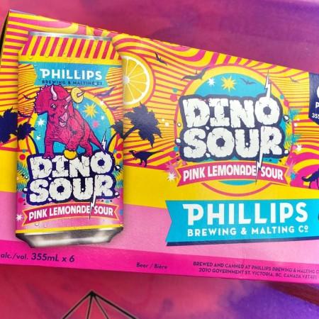 Phillips Brewing Releases Dinosour Pink Lemonade Sour