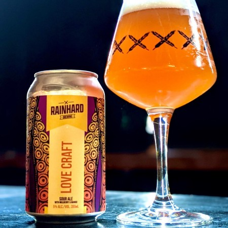 Rainhard Brewing Releases Collaboration with Homebrewer Brian Marmoreo