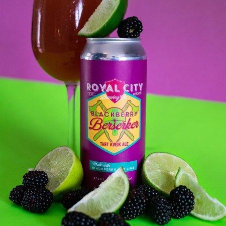 Royal City Brewing Releases Blackberry Lime Berserker Kveik Ale