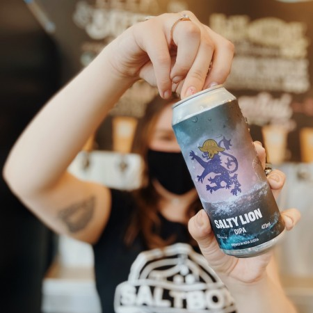 Saltbox Brewing and New Scotland Brewing Release Salty Lion Double IPA