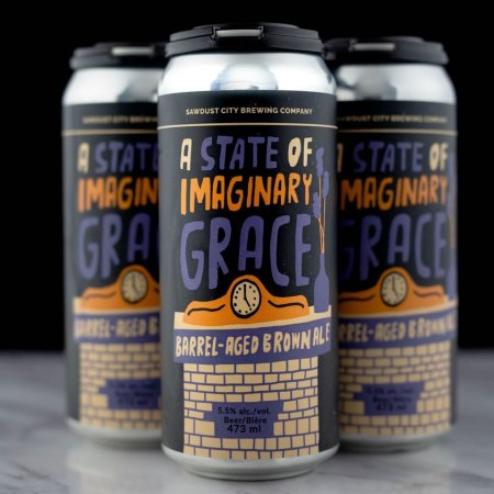 Sawdust City Brewing Releases A State of Imaginary Grace Barrel-Aged Brown Ale
