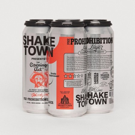 Shaketown Brewing Launches in North Vancouver with Pre-Prohibition Lager