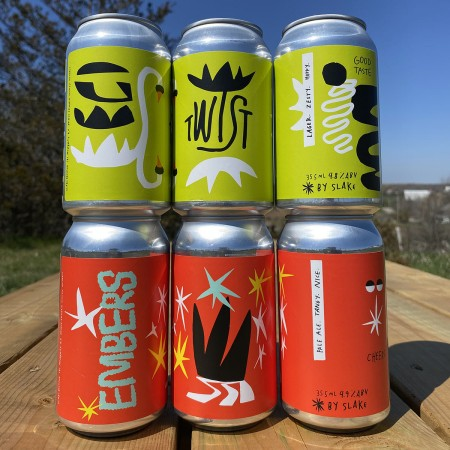 Slake Brewing Releases Embers Pale Ale and Twist Hoppy Lager