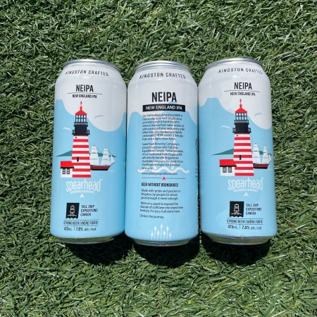 Spearhead Brewing Releases Limited Edition Cans of NEIPA for Tall Ship Expeditions Canada
