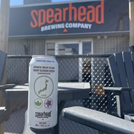 Spearhead Brewing Globetrotter Series Continues with Japanese Green Tea and Cherry Blossom Saison