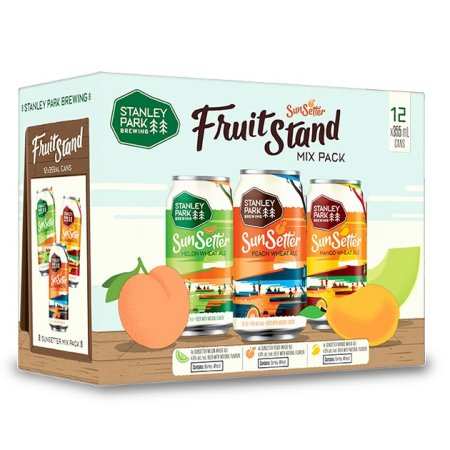 Stanley Park Brewing Releasing SunSetter Fruit Stand Mix Pack