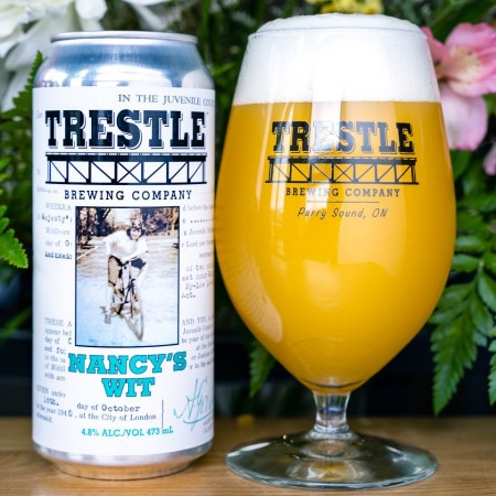 Trestle Brewing Releases Nancy's Wit and Boneyard Bay White IPA