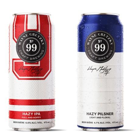 Wayne Gretzky Craft Brewing Releases Hazy IPA and Hazy Pilsner