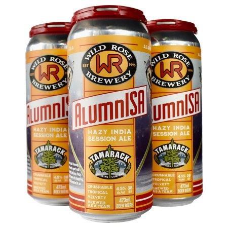Wild Rose Brewery and Tamarack Brewing Bring Back AlumnISA with Calgary Flames Alumni