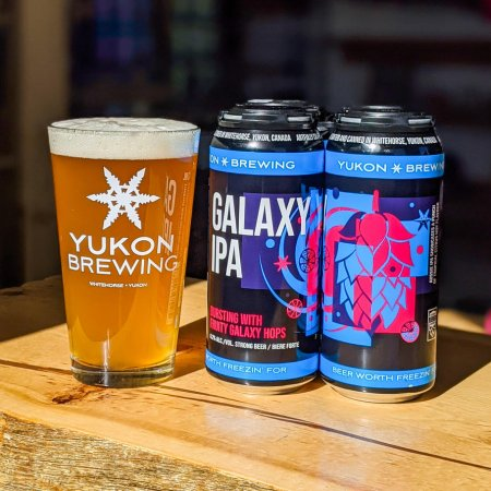 Yukon Brewing Releases Galaxy IPA and New World Blonde