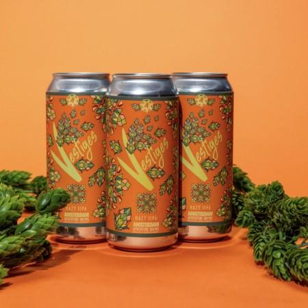 Amsterdam Brewery Releases Vestiges Hazy IIPA