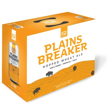 Banded Peak Brewing Releasing 12-Packs of Plainsbreaker Hopped Wheat Ale and Mount Crushmore Pilsner