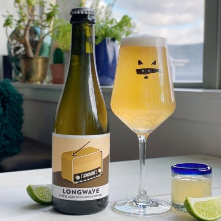 Bandit Brewery Releases Longwave 28.1 Tequila Barrel Aged Gose With Lime
