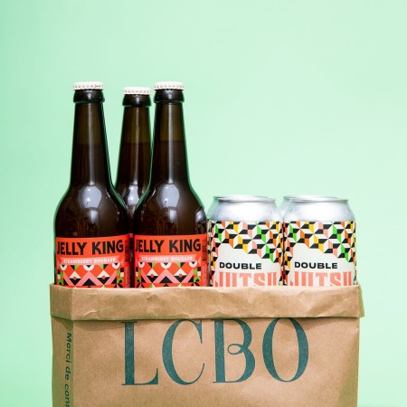 Bellwoods Brewery Strawberry Rhubarb Jelly King and Double Jutsu DIPA Now Available at LCBO