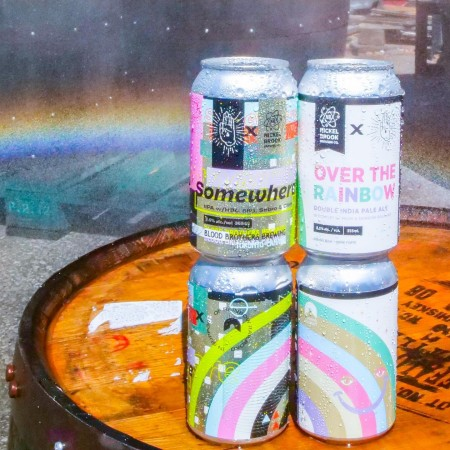 Blood Brothers Brewing and Nickel Brook Brewing Release Collaborative IPAs for Rainbow Railroad