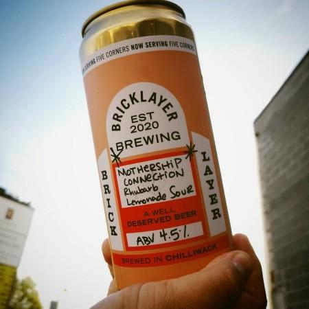 Bricklayer Brewing Releases Mothership Connection v.2 Rhubarb Lemonade Sour