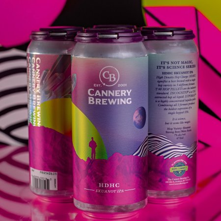 Cannery Brewing Releases HDHC Ekuanot IPA