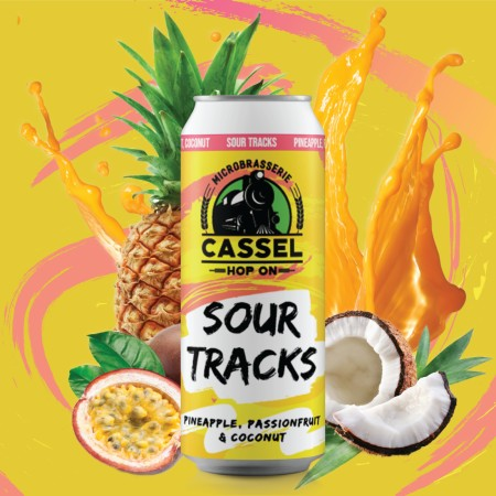 Cassel Brewery Releasing Sour Tracks Pineapple, Passionfruit & Coconut