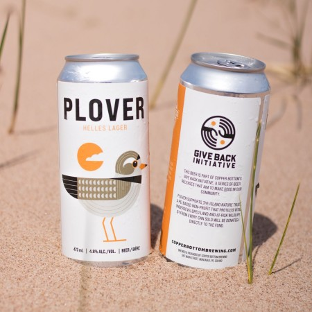 Copper Bottom Brewing Releases Plover Helles Lager for Island Nature Trust