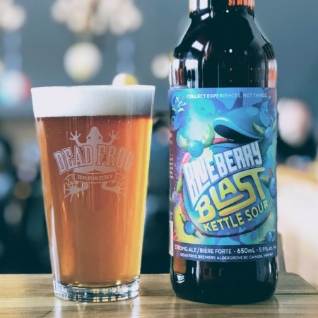 Dead Frog Brewery Brings Back Blueberry Blast Kettle Sour