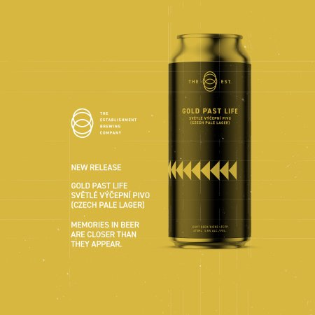 The Establishment Brewing Company Releases Gold Past Life Czech Pale Lager