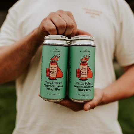 Field House Brewing Releases Talus Sabro Neomexicanus Hazy IPA