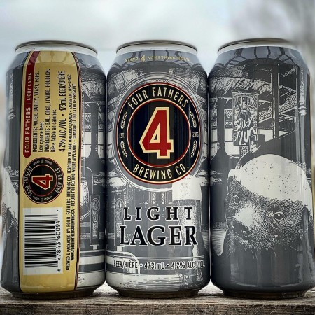 Four Fathers Brewing Releases Light Lager