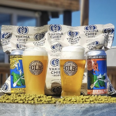 Great Lakes Brewery Releasing Continental Rift East Coast & West Coast IPAs