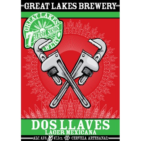 Great Lakes Brewery Brings Back Dos Llaves Lager Mexicana
