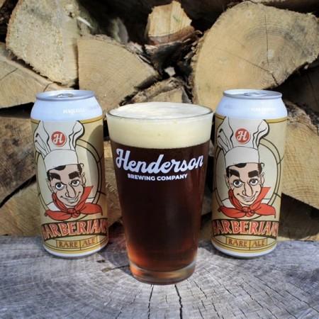 Henderson Brewing Releases Barberian's Rare Ale