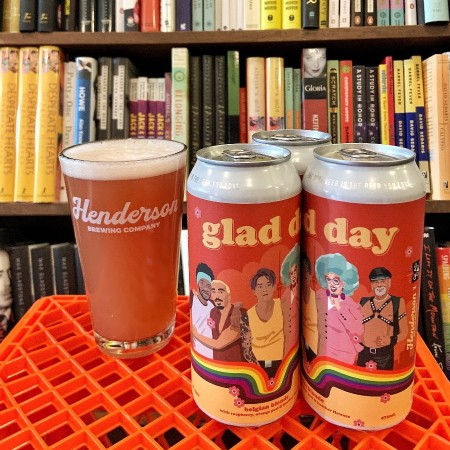 Henderson Brewing Ides Series Continues with Glad Day Belgian Blonde