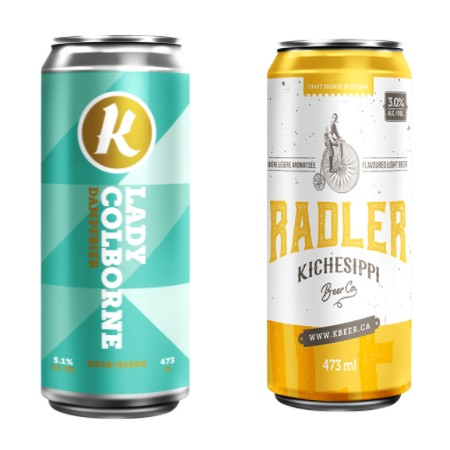 Kichesippi Beer Releases Lady Colborne Dampfbier and Grapefruit Radler