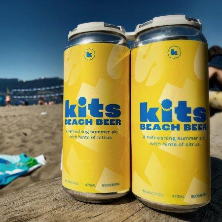Kits Beach Beer Launches in Kitsilano, BC