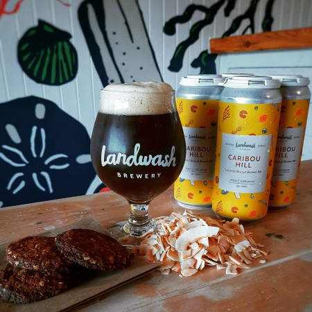 Landwash Brewery Releases Caribou Hill Coconut Biscuit Brown Ale