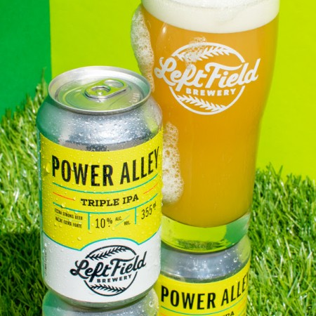Left Field Brewery Releases Power Alley Triple IPA