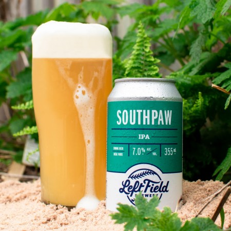 Left Field Brewery Releases 2021 Edition of Southpaw IPA
