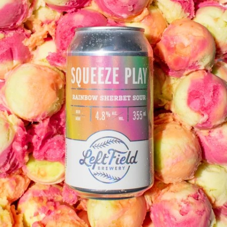 Left Field Brewery Releases Squeeze Play Rainbow Sherbet Sour