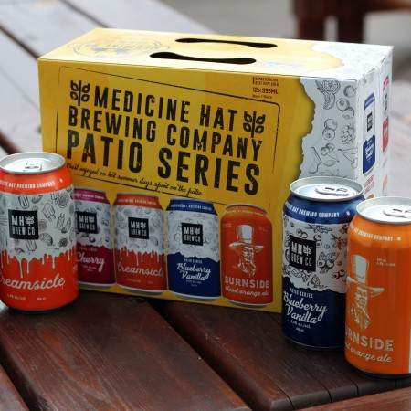 Medicine Hat Brewing Releases Patio Series Mix Pack