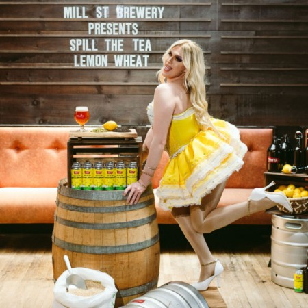 Mill Street Brewery and Lemon Release Spill the Tea Lemon Wheat Ale for Rainbow Railroad