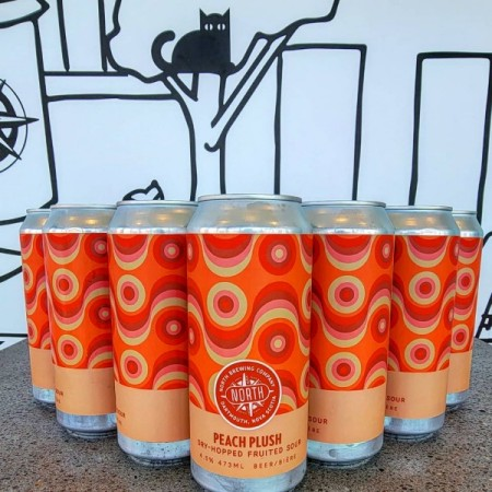 North Brewing Releases Peach Plush Dry-Hopped Sour